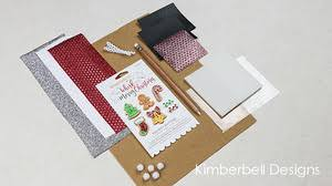 Kimberbell We Whisk You A Merry Christmas-Quilt Embellishment Kit