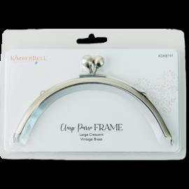 Large Crescent Clasp Purse Frame