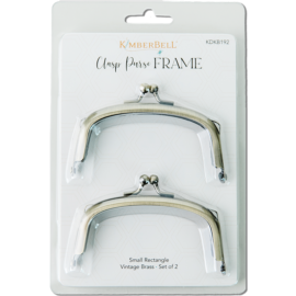 Small Rectangle Clasp Purse Frame-Set of 2