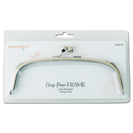Large Rectangle Clasp Purse Frame