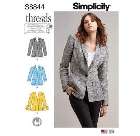 Simplicity 8844 (Size 16-24)
