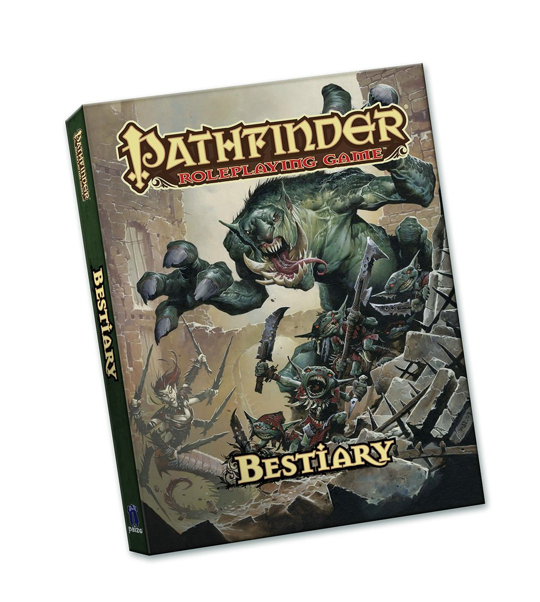 Bestiary 1 - Pathfinder 1ED Hardcover