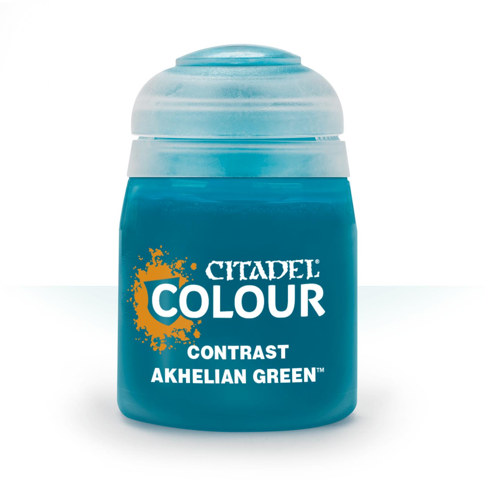 Akhelian Green Citadel Contrast Paint