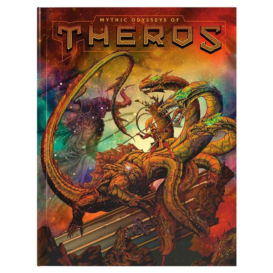 Dungeons and Dragons RPG: Mythic Odysseys of Theros Hard Cover
