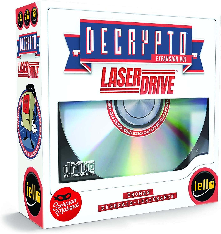 Decrypto: Laser Drive Expansion