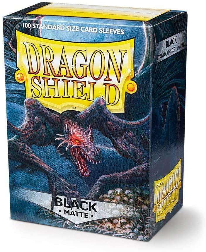 Dragon Shields: (60) Matte Black