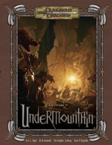 Expedition to Undermountain - D&D 3.5 Edition