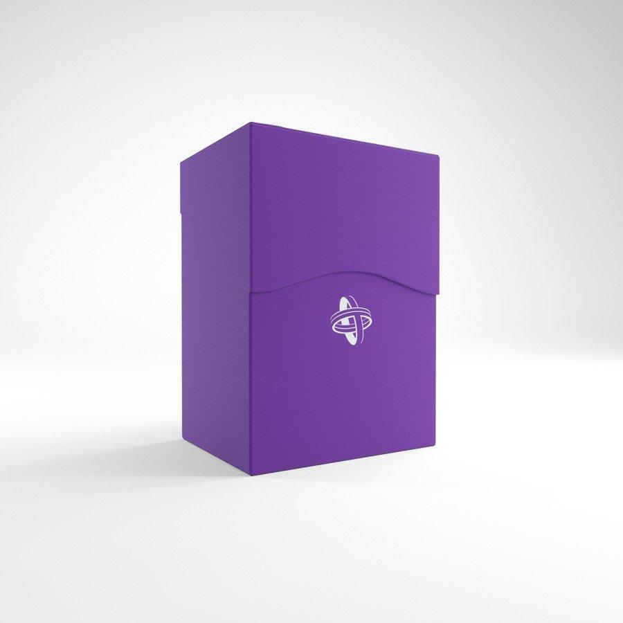 Gamegenic Deck Holder 80+ Card Deck Box: Purple