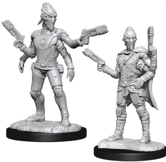 Kasatha Operative - Starfinder Deep Cuts Unpainted Miniatures: W15