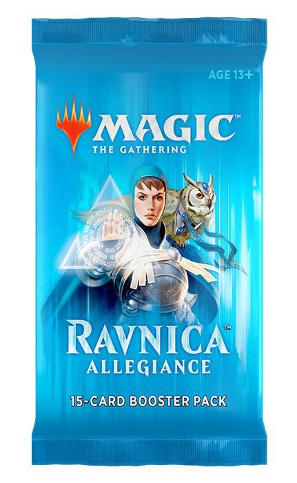 MTG Ravnica Allegiance Draft Booster Pack