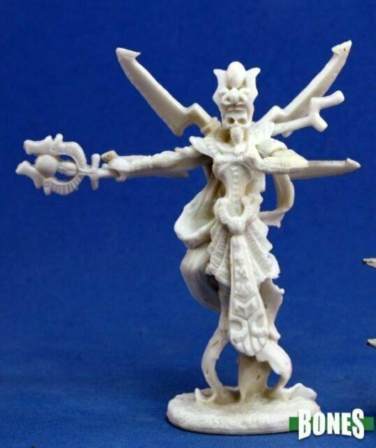 Neb'Nesew, Pharaoh Lich - Bones Miniature