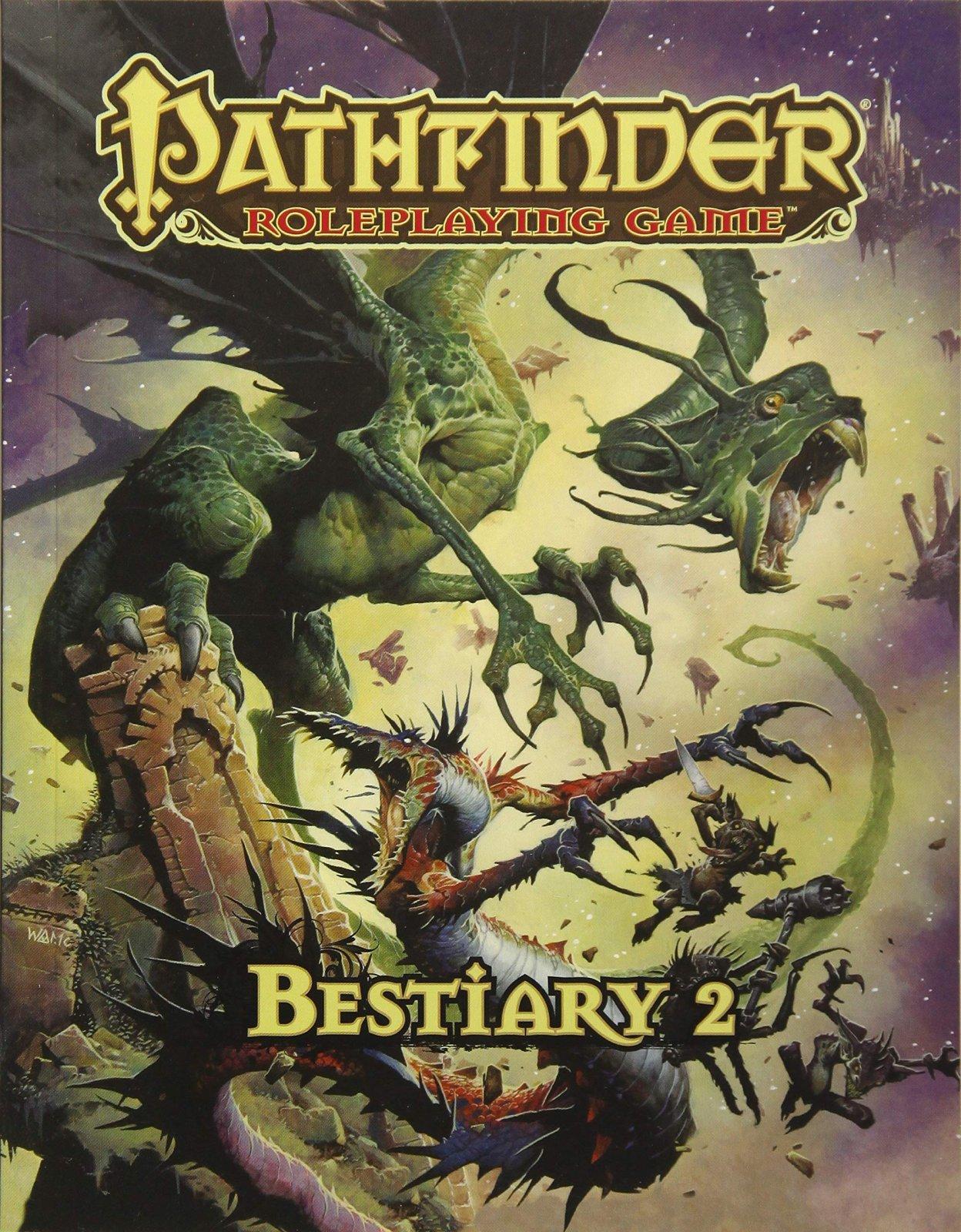 Bestiary 2 - Pathfinder 1ED Hardcover