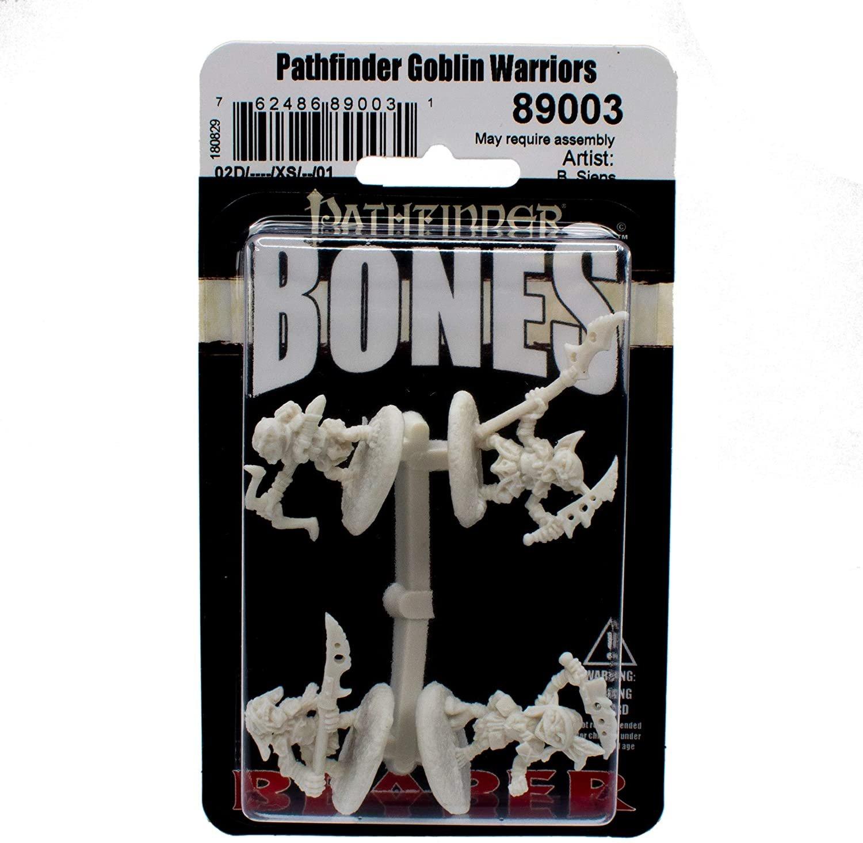 Pathfinder Goblin Warriors - Bones Miniature
