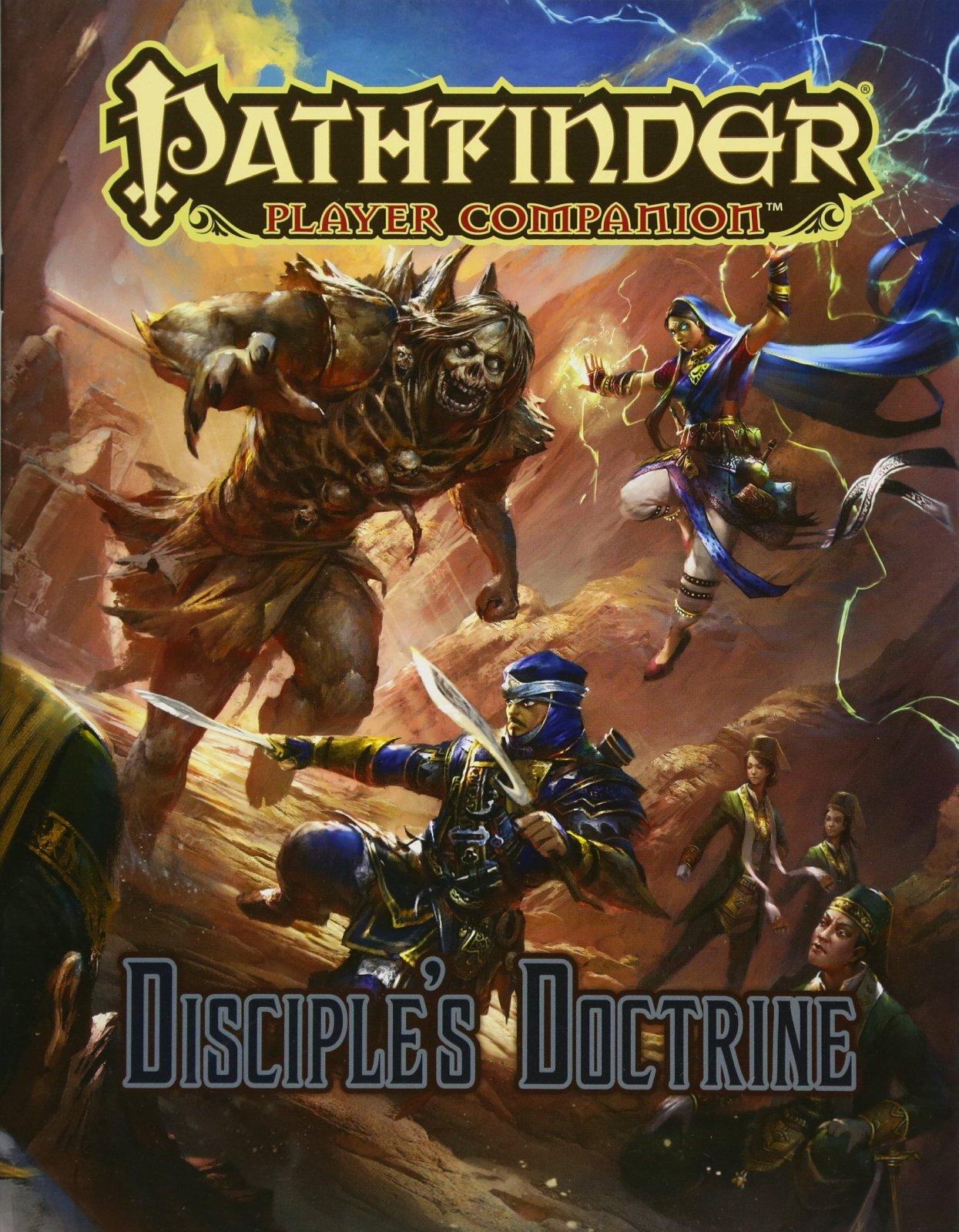 Desciple's Doctrine - Pathfinder Player Companion