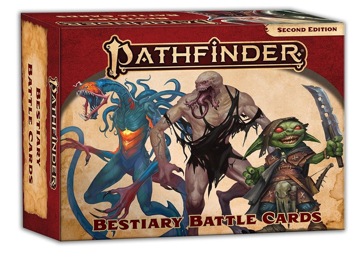 Pathfinder RPG: Bestiary Battle Cards (P2)