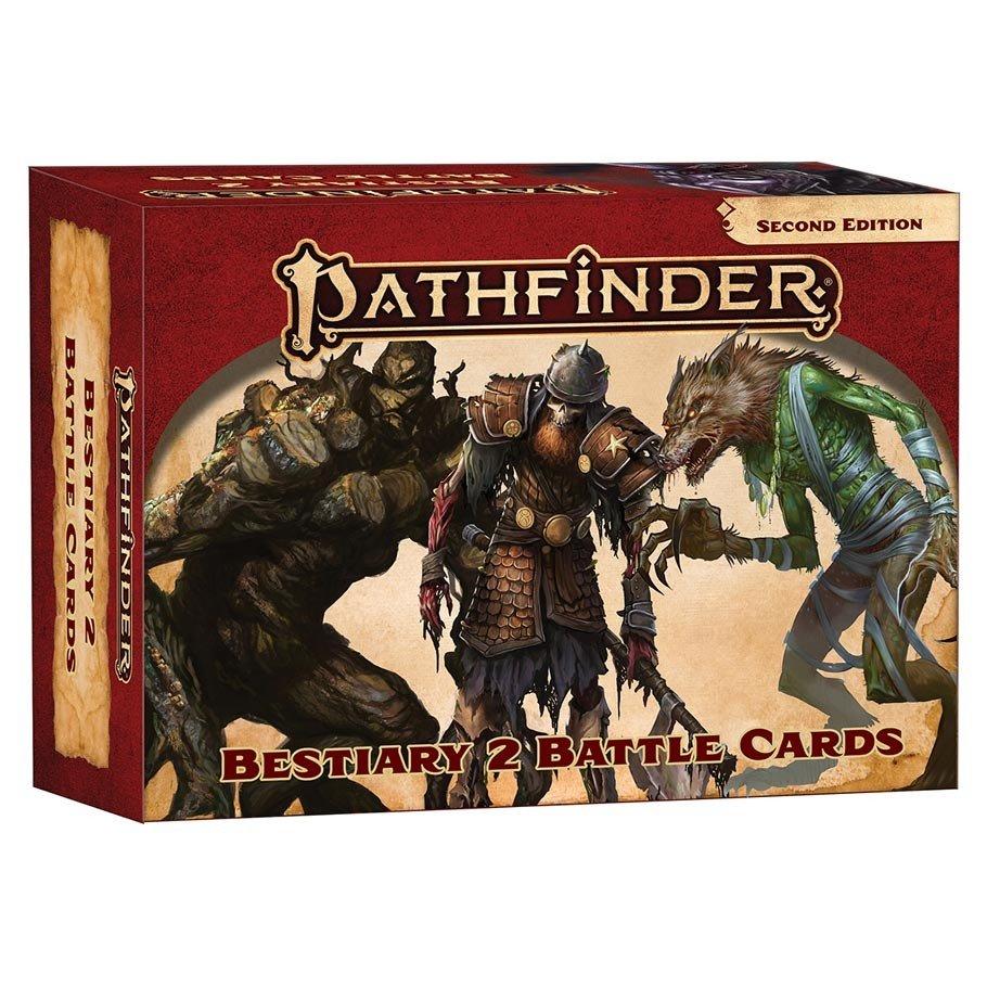 Pathfinder 2E: Bestiary 2 Battle Cards