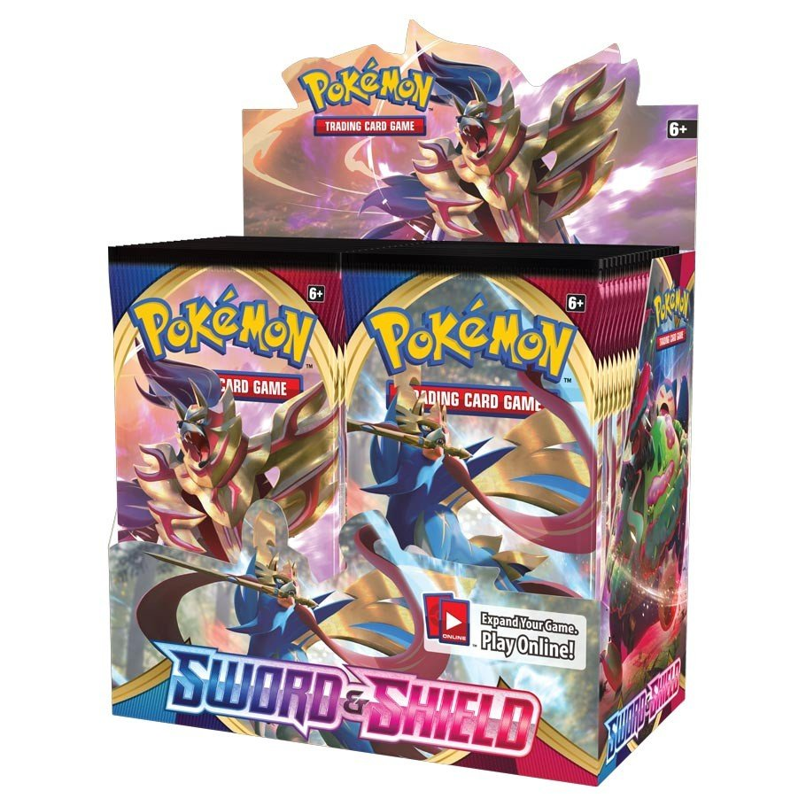 PKM: S&S1: Sword & Shield Booster Pack (10 Cards)