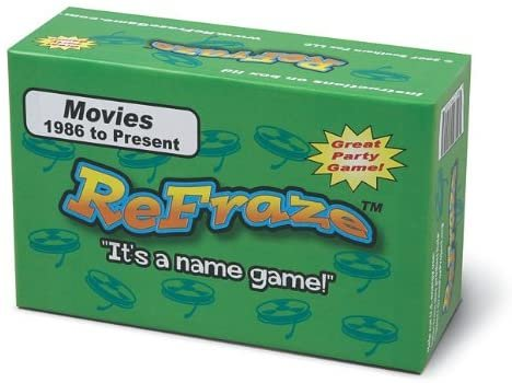 Refraze: Movies (Up to 1985 Edition)