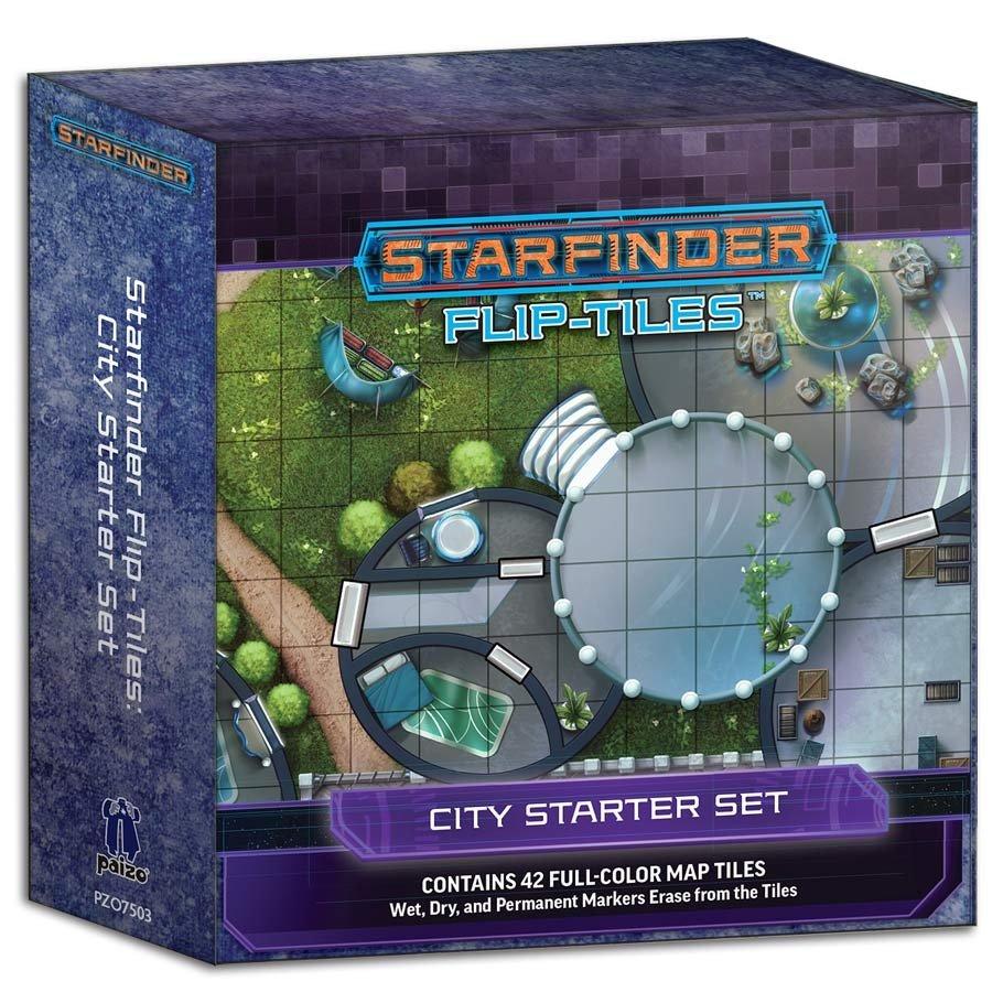 Flip-Tiles: City Starter Set: Starfinder RPG