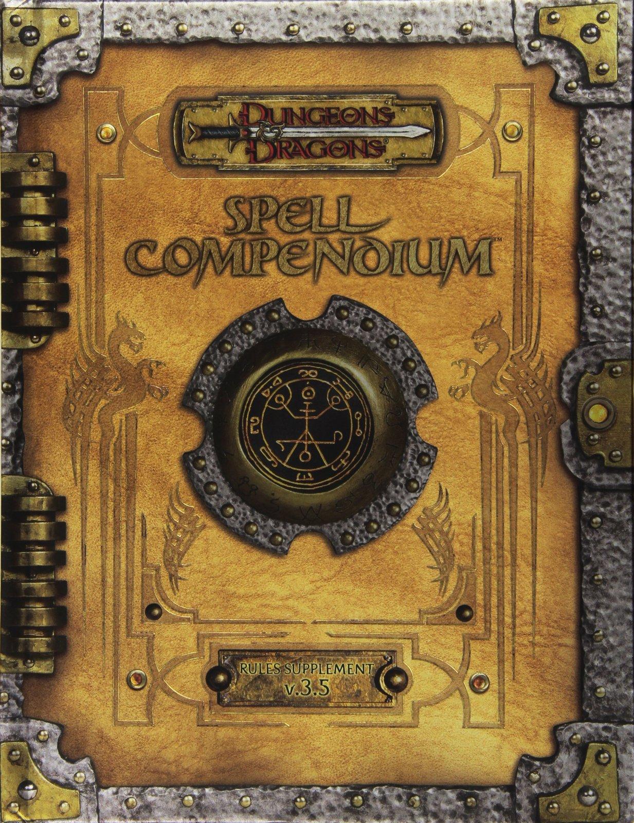 Spell Compendium - D&D 3.5 Edition