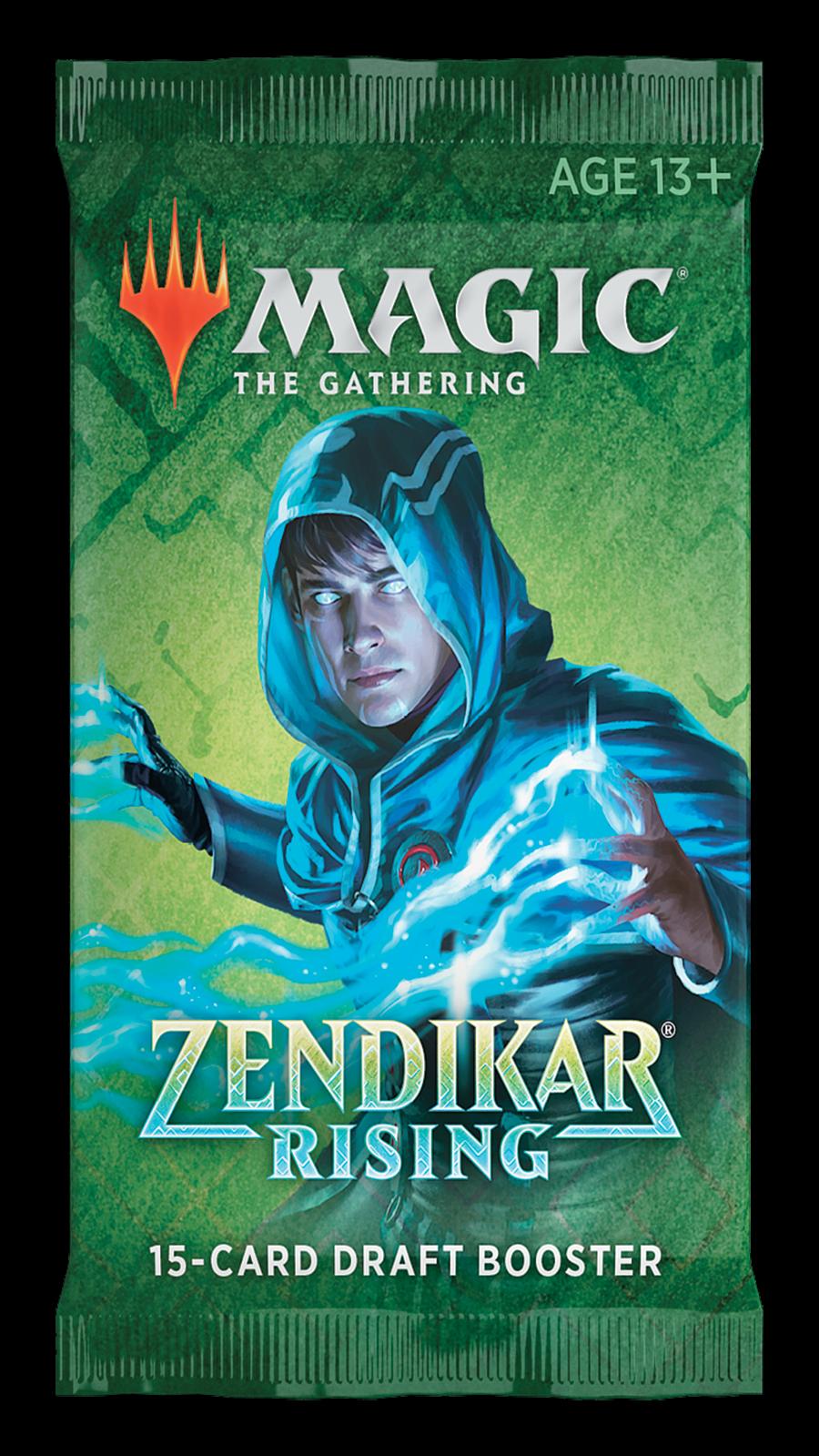 Magic the Gathering CCG: Zendikar Rising Draft Booster Pack