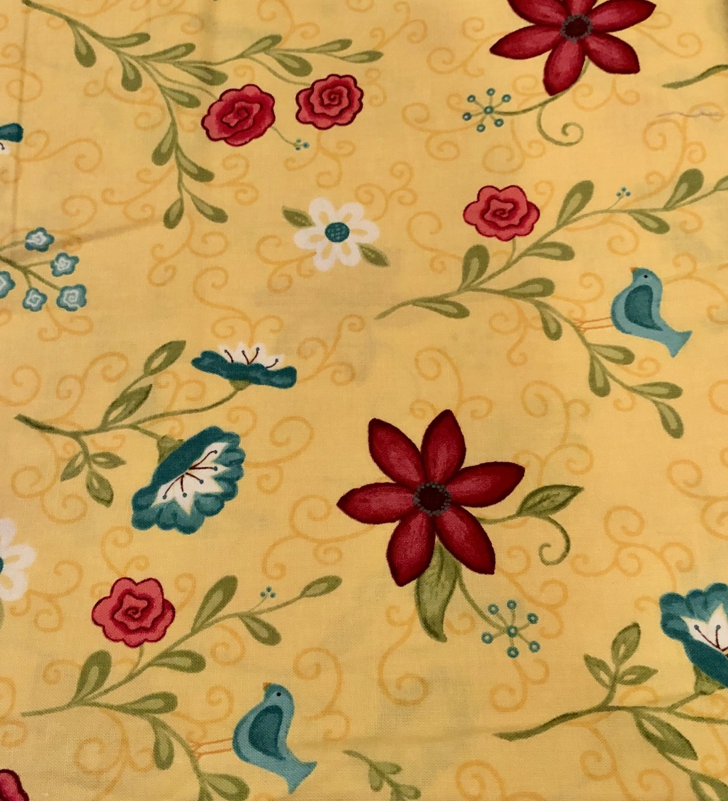 Wildflowers by Heather Mulder Peterson 2 yds