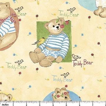 Teddy Bears -2 yd