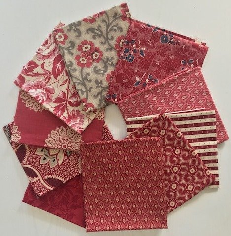 French Red FQ Bundle