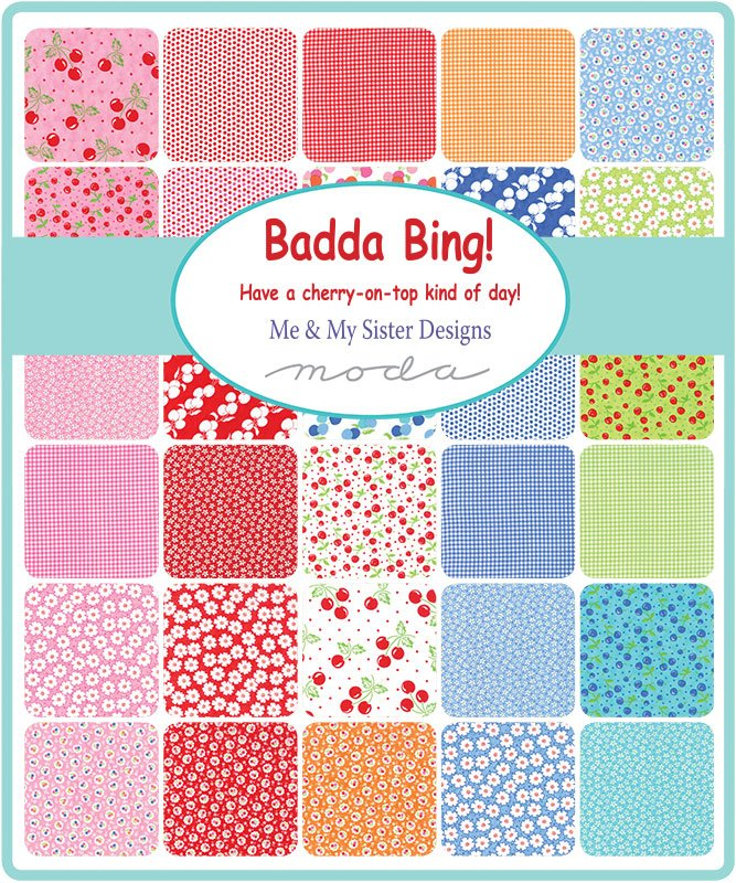 Me & My Sister Designs Badda Bing Scrap Roll and Free Pattern