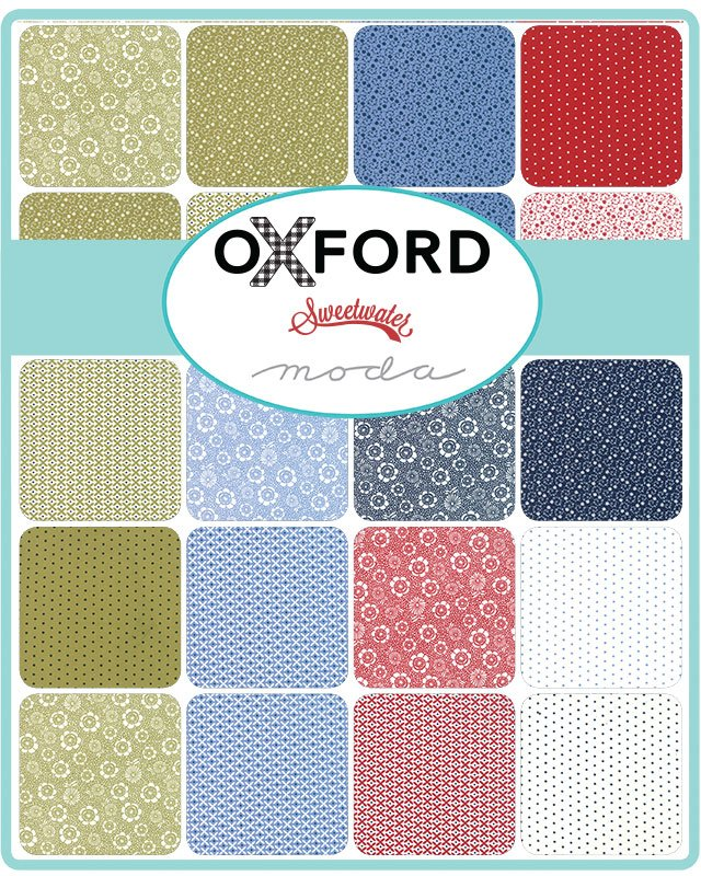 Sweetwater Oxford Prints Scrap Roll and Free Pattern