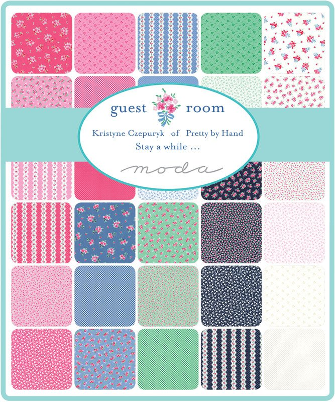 Kristyne Czepuryk Guest Room Scrap Roll and Free Pattern