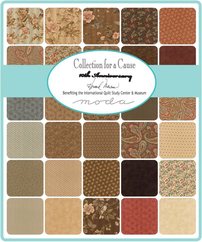 Howard Marcus Collection for a Cause Heritage 10th Anniversary Scrap Roll and Free Pattern