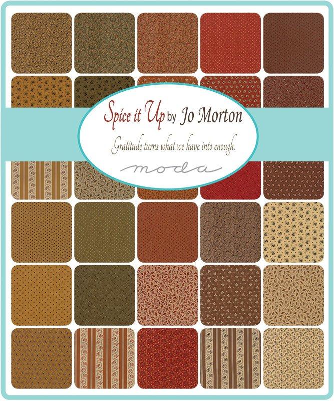 Jo Morton Spice It Up Scrap Roll and Free Pattern