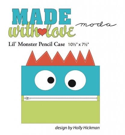 Monster zipper case
