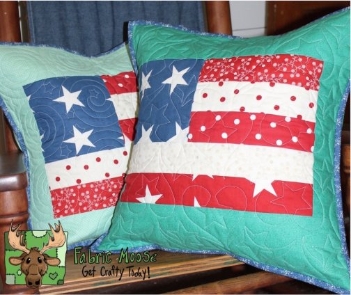 Flying Flag pillow