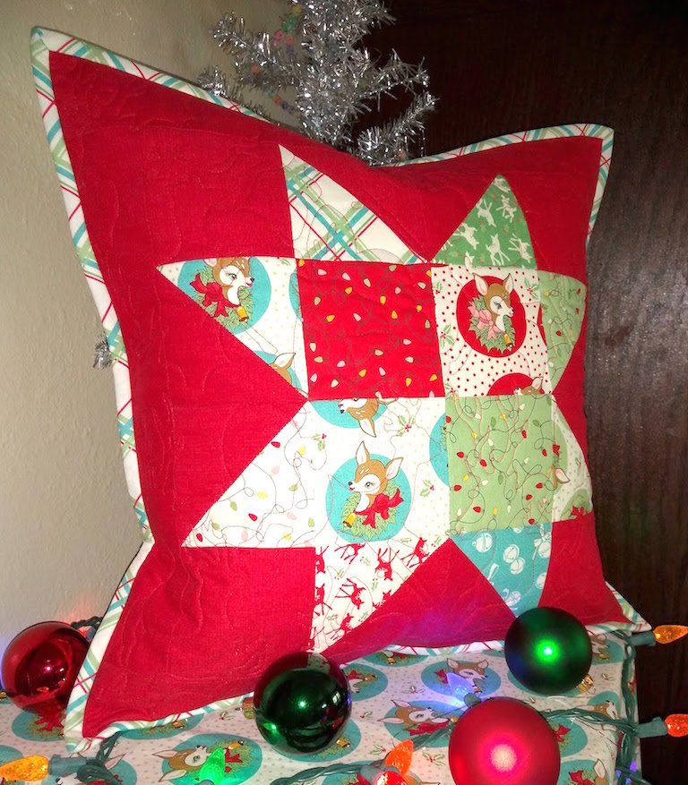 Christmas ornament decorative pillow cover 18