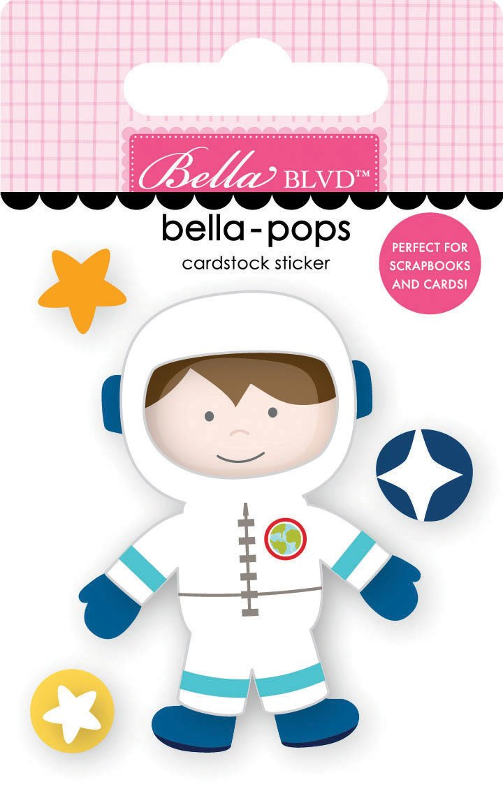 To The Moon - Space Boy Bella-pops