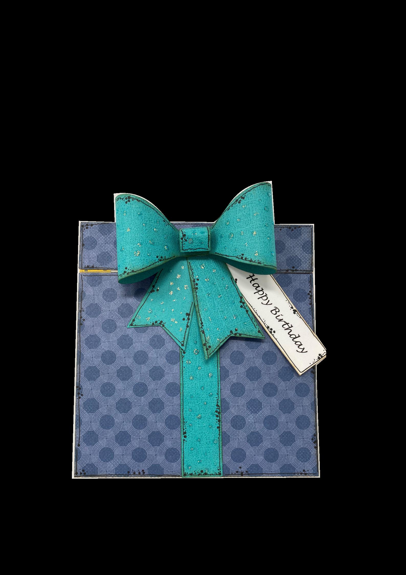 Present Boy Gift Card Holder