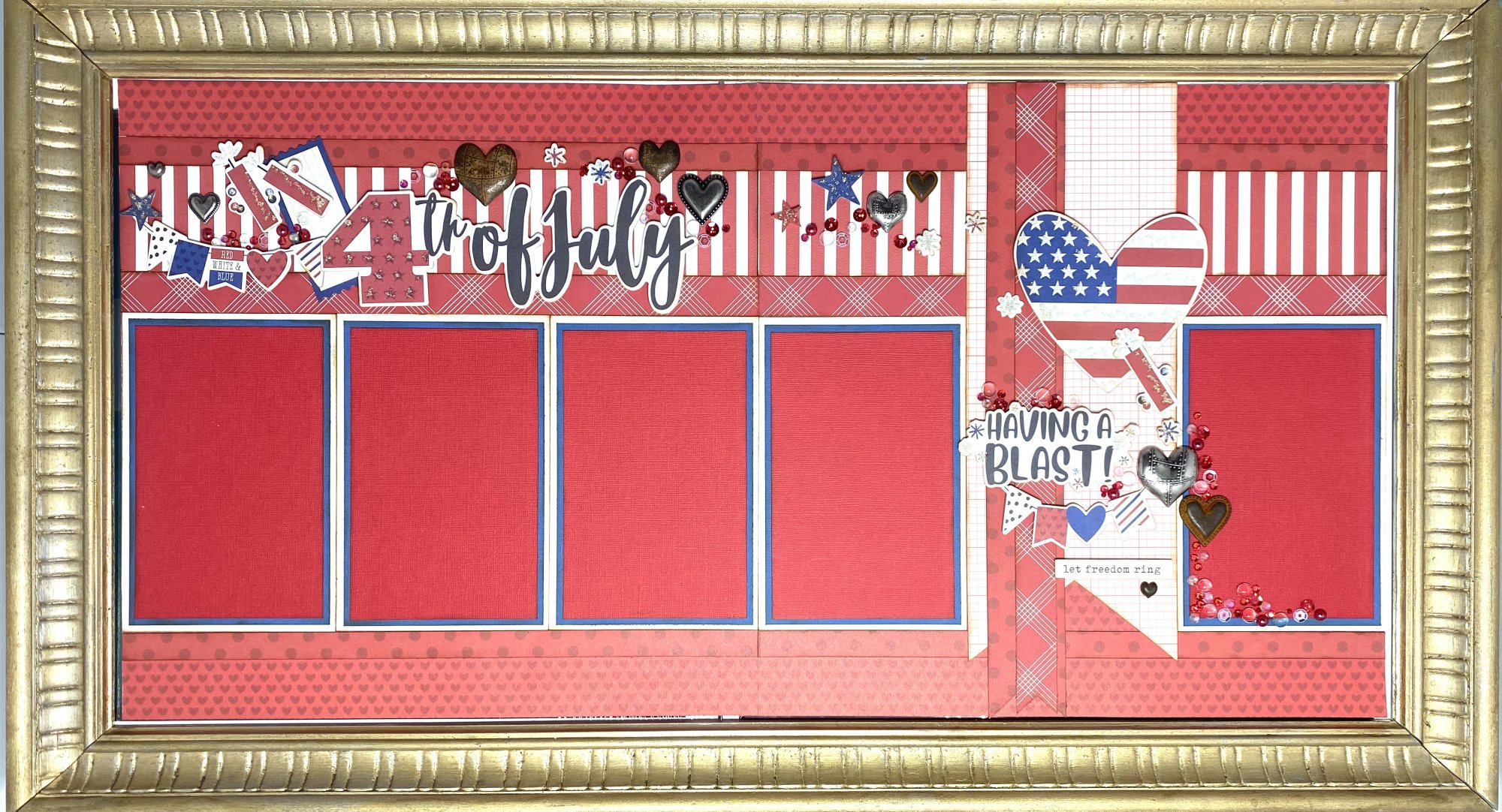 Fourth of July - Shannon's Special Layout