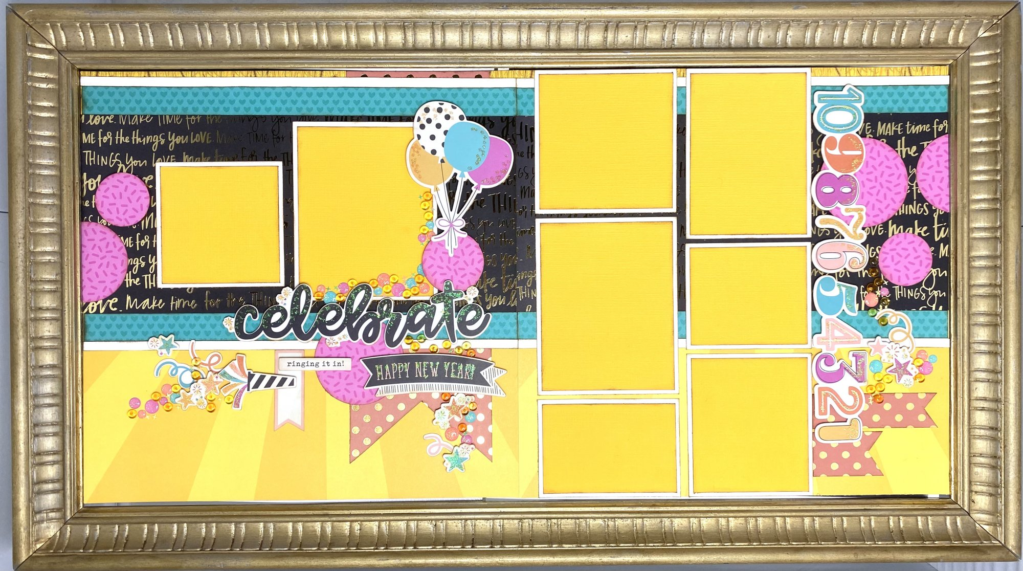 Celebrate - Shannon's Special Layout