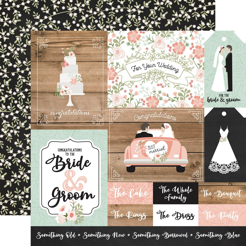 COLLECTION: Our Wedding Double-Sided Cardstock 12X12