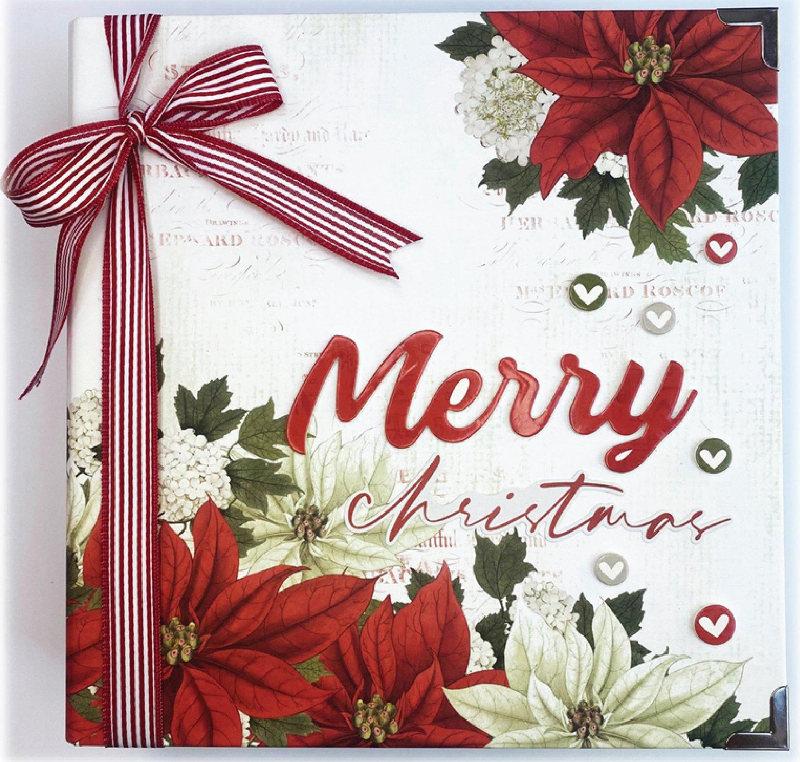 Simple Vintage Rustic Christmas 6x8 Sn@p! Album - Cash & Carry