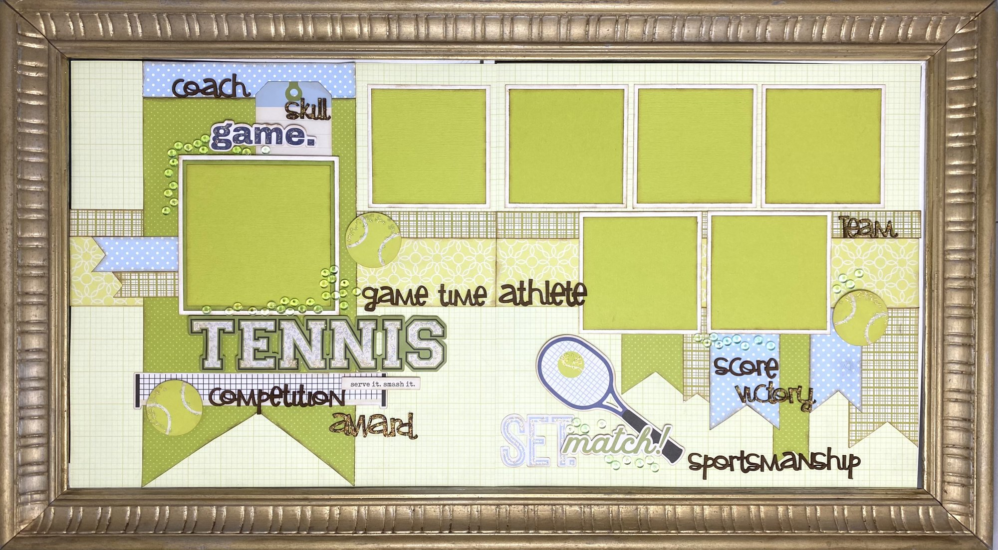 Tennis - Shannon's Special Layout