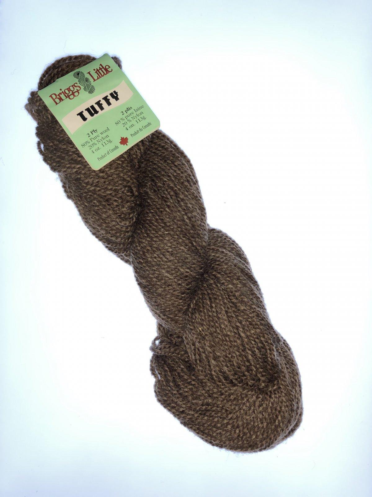 Tuffy 2 Ply 4oz (113g) 80% Wool 20% Nylon Worsted/Aran Yarn Cocoa
