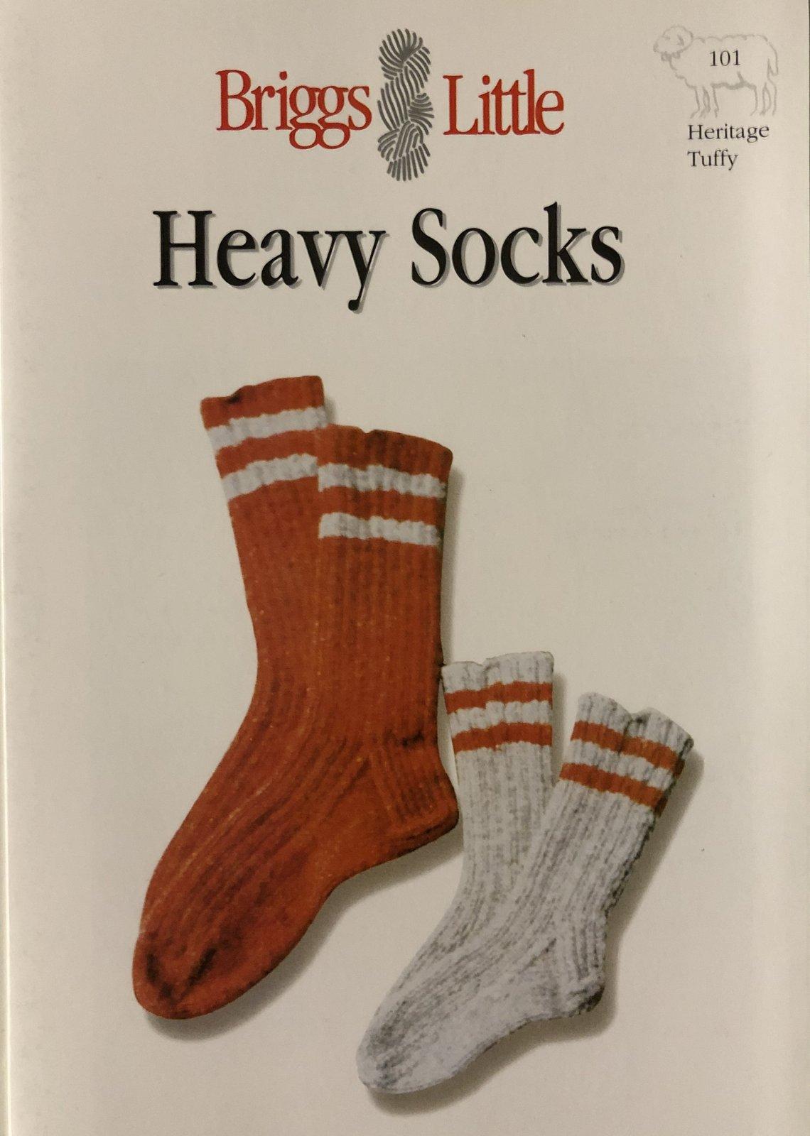 Briggs & Little Heavy Socks Pattern