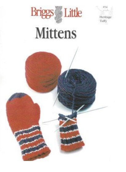 Briggs & Little Mittens Pattern