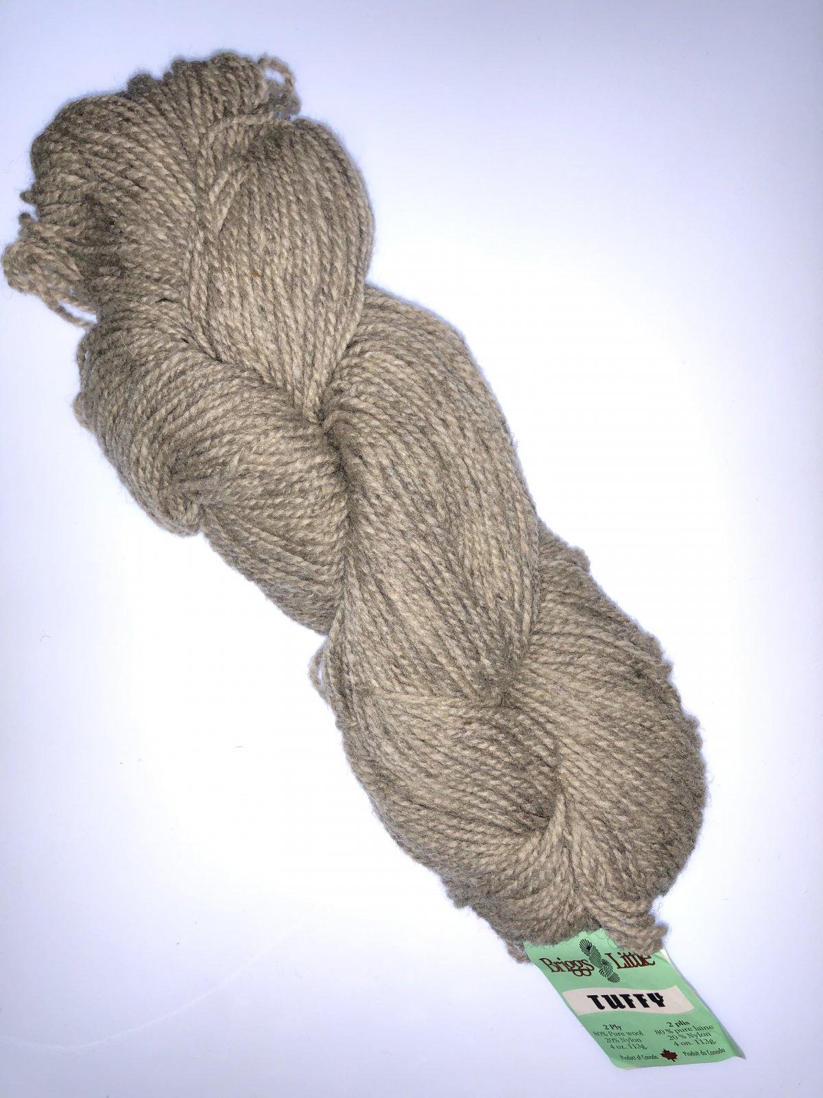 Tuffy 2 Ply 4oz (113g) 80% Wool 20% Nylon Worsted/Aran Yarn Oatmeal
