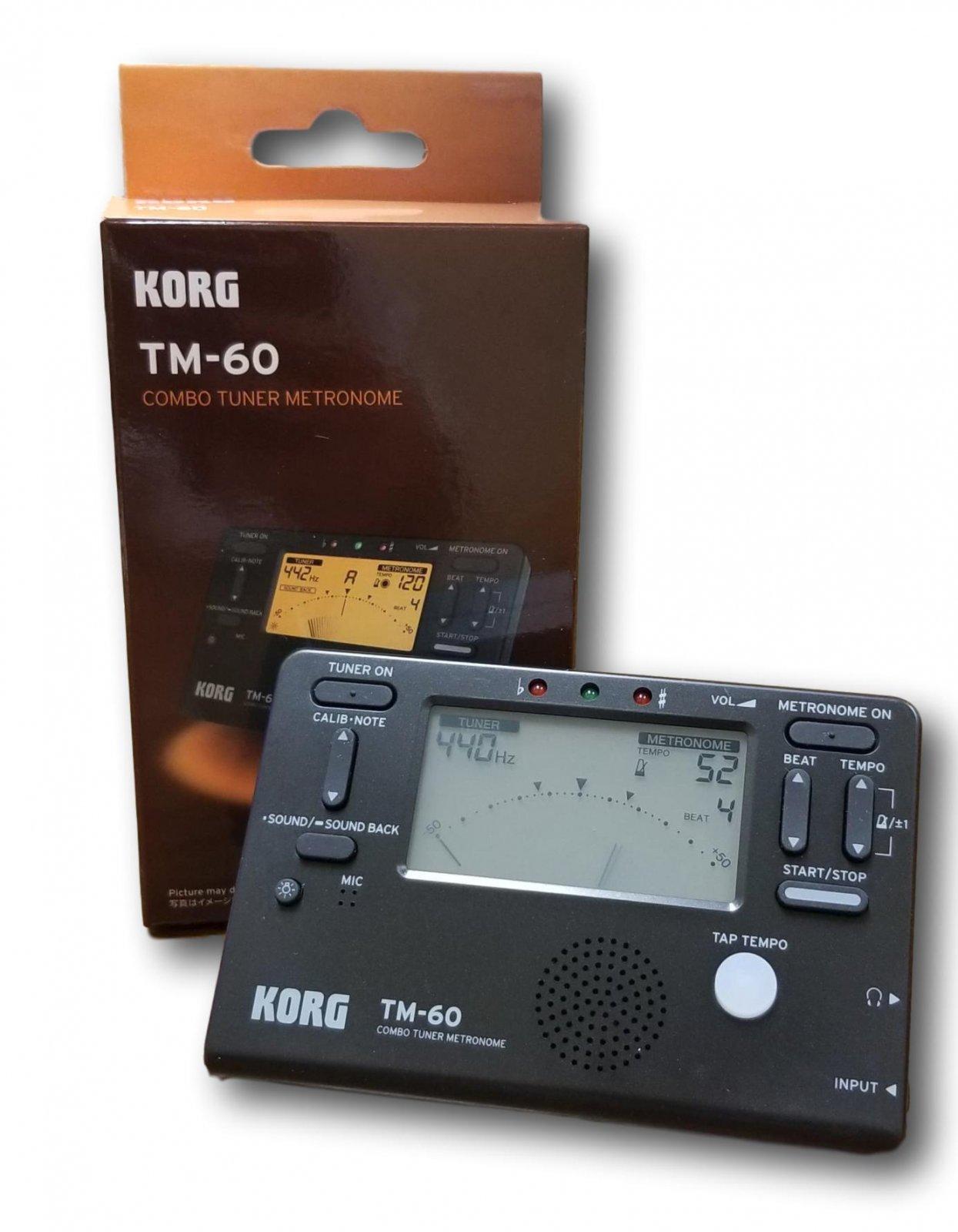 Korg TM-60 Metro/Tuner