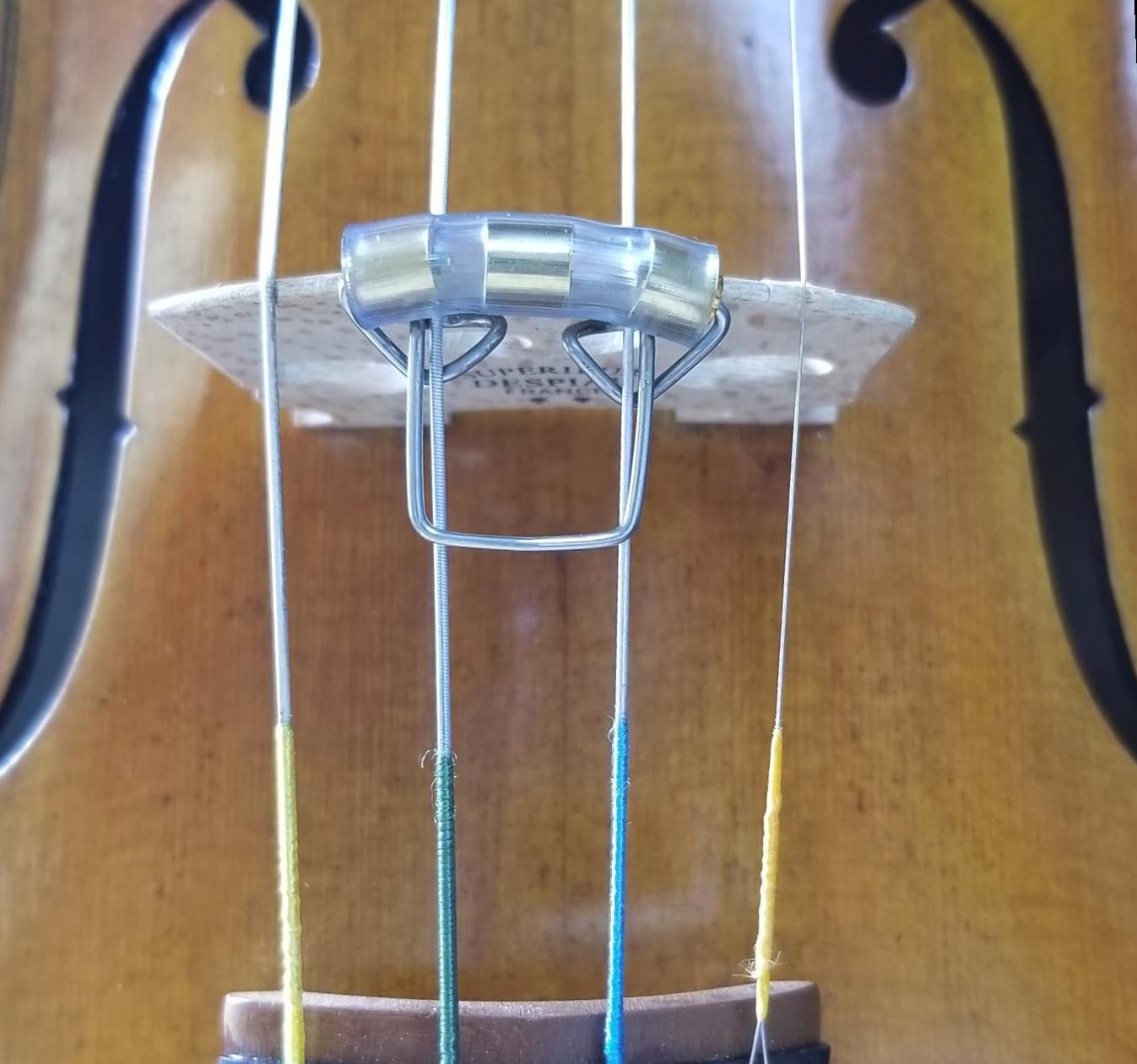 Slide-On Mute, Violin