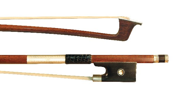 4/4 Violin - Pernambucco Wrapped Carbon Bow, Fully Lined